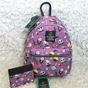 NWT Loungefly Nightmare Before Christmas
